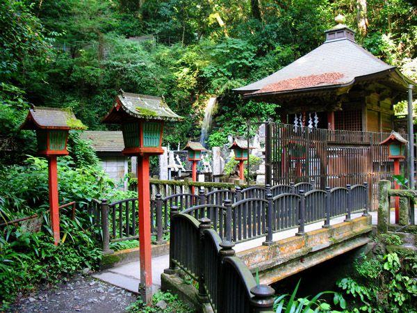 琵琶滝 ここから2号路に接続できる