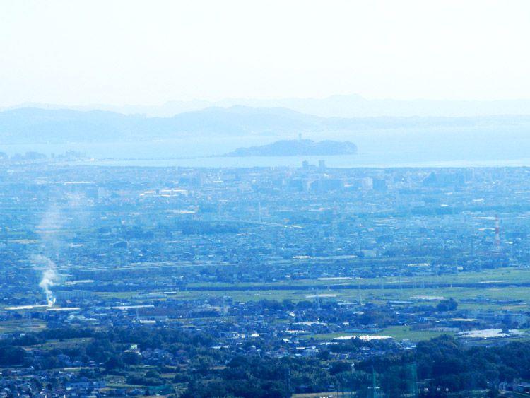聖峰からの展望(江の島)