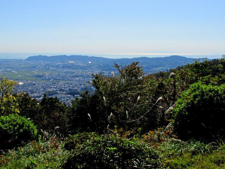 聖峰からの展望(湘南平)